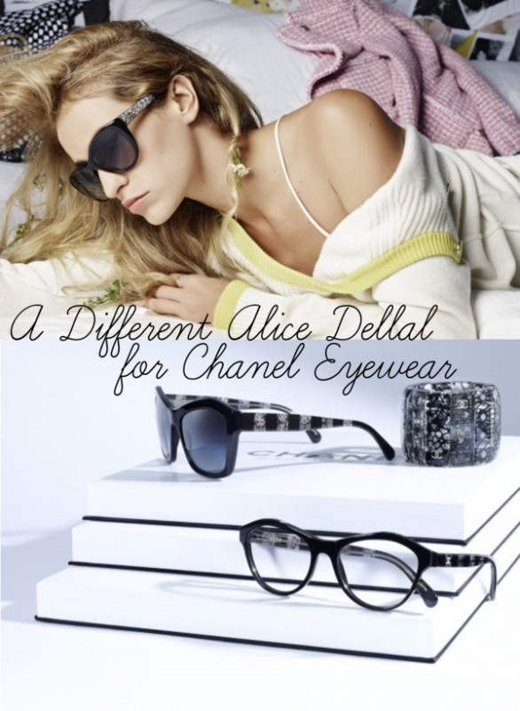 Alice Dellal for Chanel Eyewear