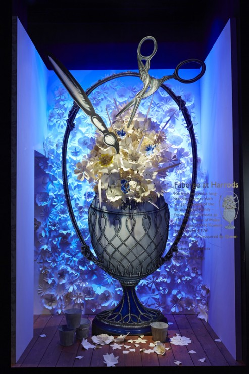 Fabergé at Harrods Window 2