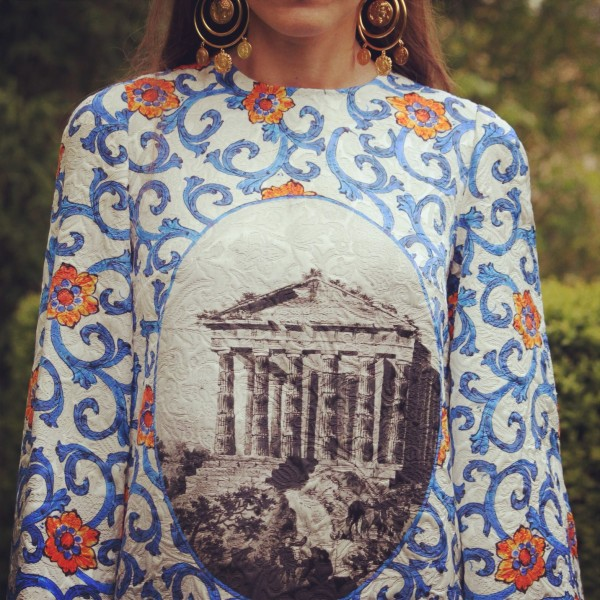 Greek motif Dolce & Gabbana Tunic