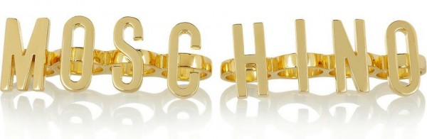 Moschino Finger Rings