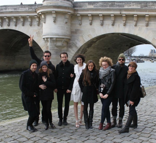 Team L'Officiel Shoot in Paris