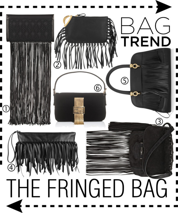 The Fringed Bag SS2014