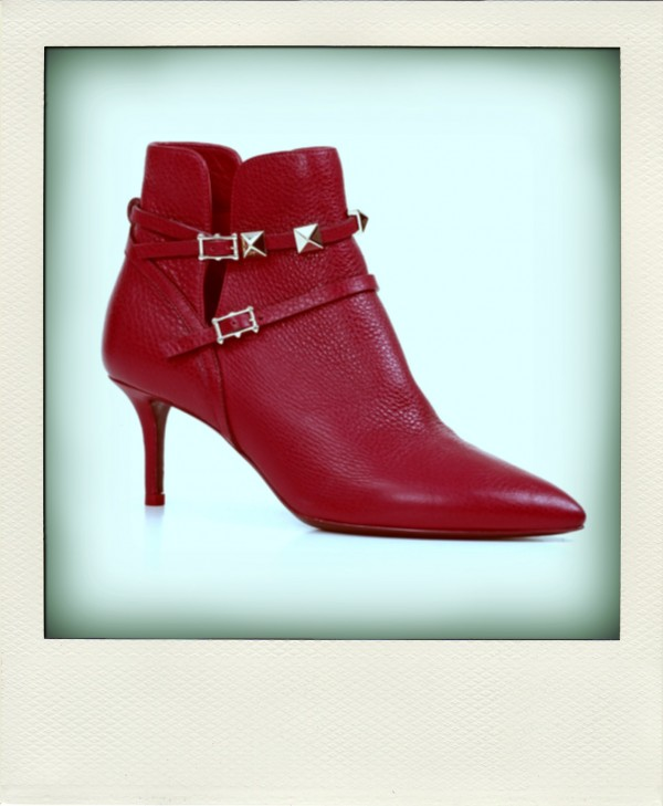 ANKLE BOOT ROUGE ABSOLUTE SIGNATURE