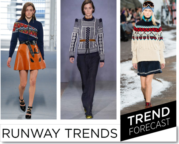Argyle Sweaters Fashion Trend FW2014