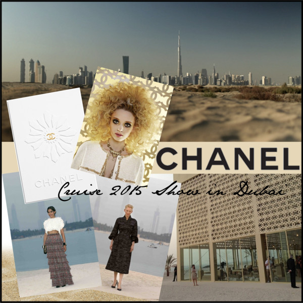 Chanel Cruise 2015 Show in Dubai Cover