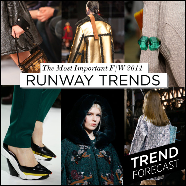 Fashion Trends for F:W 2014 Cover