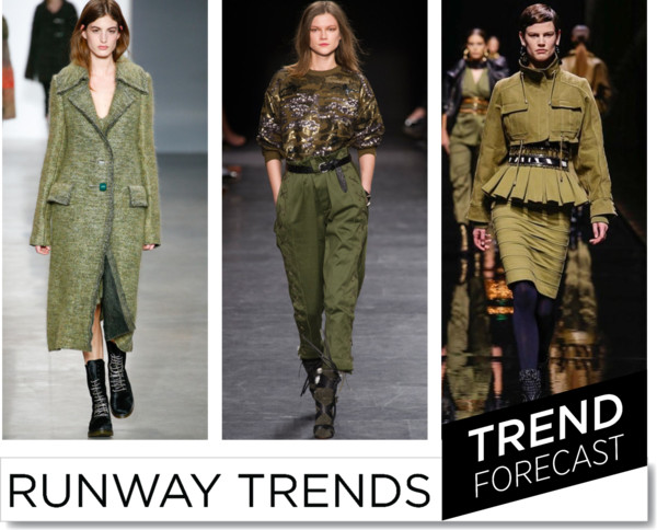 Military Khaki -FW2014-Runway Trends