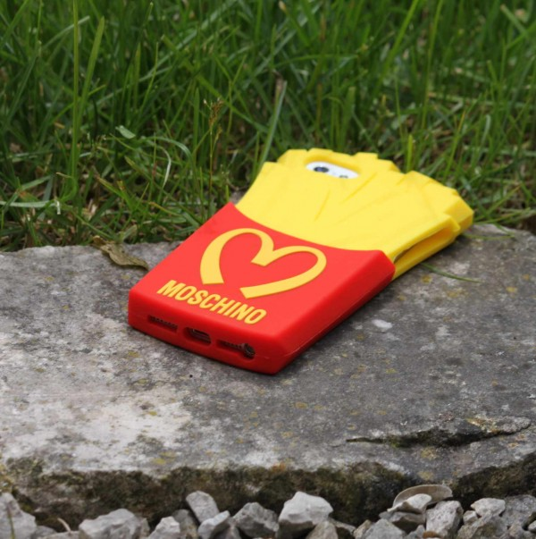 Moschino Cell Phone Cover Fries