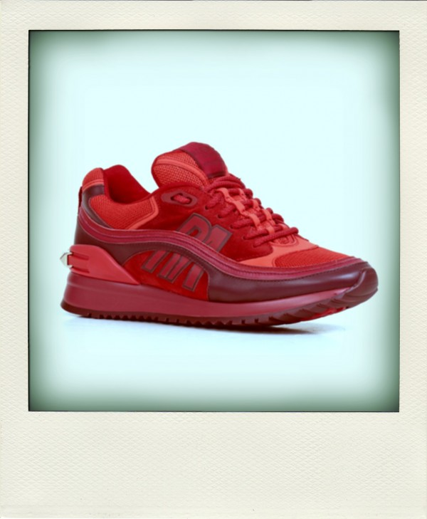 SNEAKER ROUGE ABSOLUTE SIGNATURE