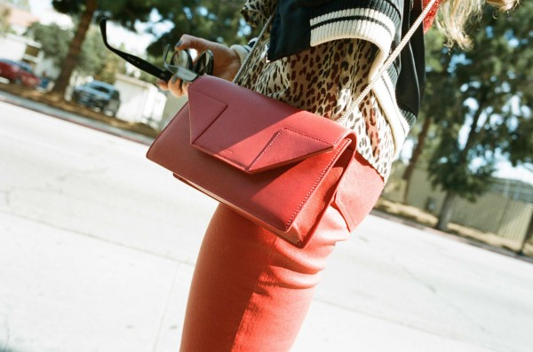 Saint Laurent Bag on Sandra Bauknecht in Los Angeles
