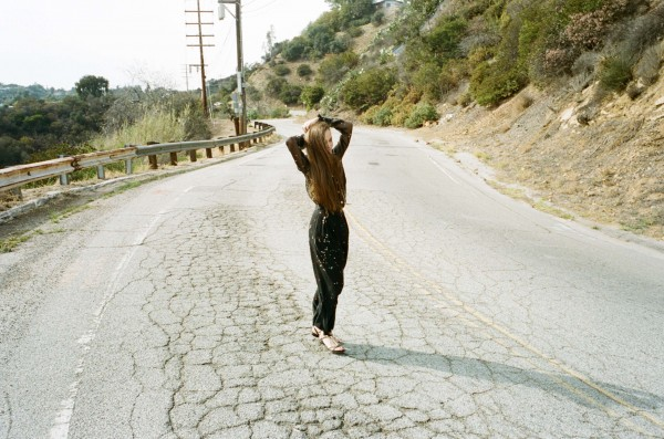 Sandra Bauknecht on Mulholland Drive shot by David Shama