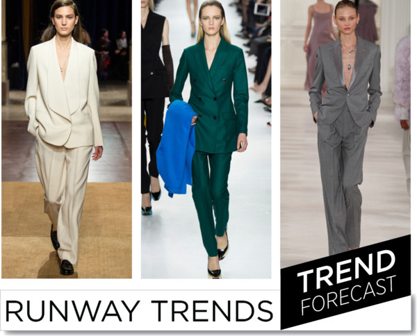 Suits FW 2014 _ Runway Trends