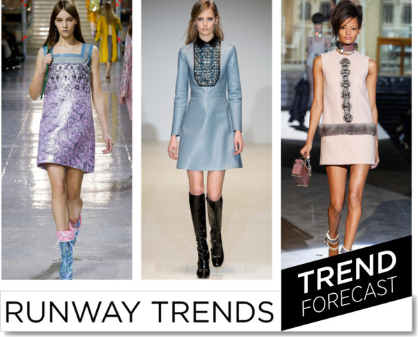Sweet Sixties FW2014 -Runway Trends