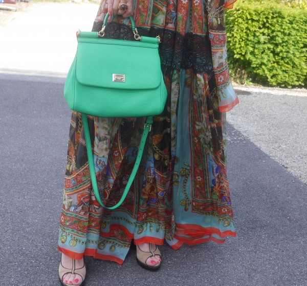 Bohemian Dress by Dolce & Gabbana-Etro ring-Bottega shoes