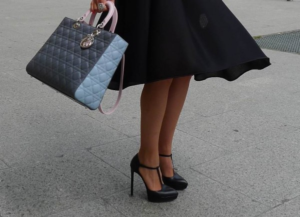 Dior Bag, Simone Rocha Skirt