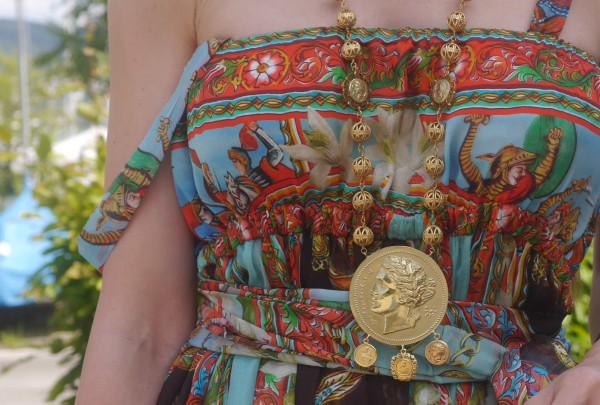 Dolce & Gabbana Coin Necklace