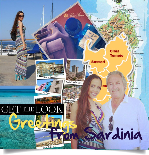 Greetings from Sardinia-Sandra Bauknecht-Pier Luigi Loro Piana