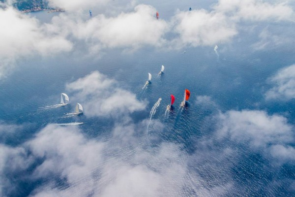 Loro Piana Superyacht Regatta 2014 From above