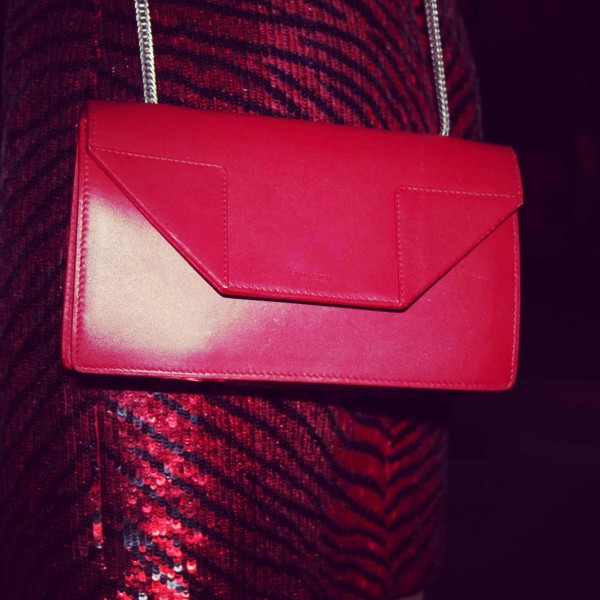 Betty Bag in red by Saint laurent