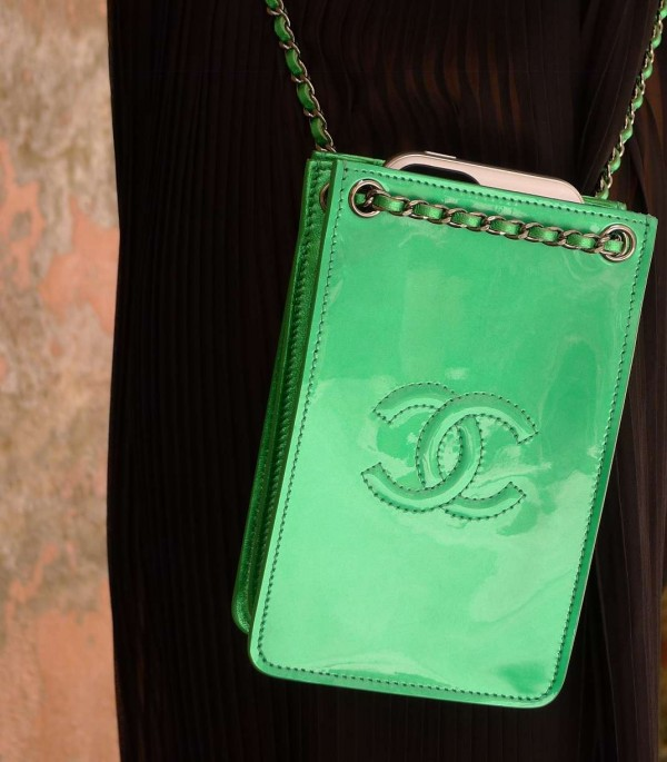 Chanel cellphone bag