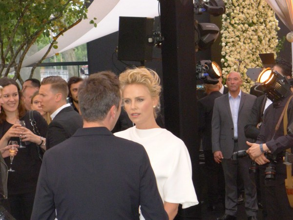Charlize Theron at Dior Event