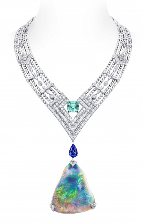 Louis Vuitton-Acte V-Necklace-Black Opal