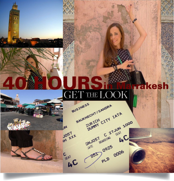 Sandra Bauknecht in Marrakesh for 40 Hours