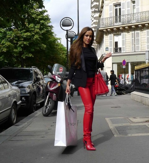 Sandra Bauknecht in Paris Shopping 3