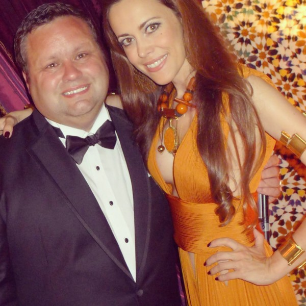 Sandra Bauknecht with Paul potts