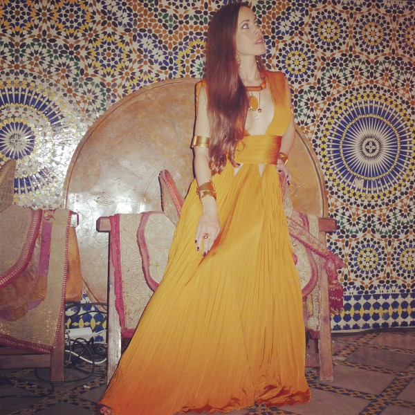 Sandra bauknecht in Givenchy in Marrakesh 30