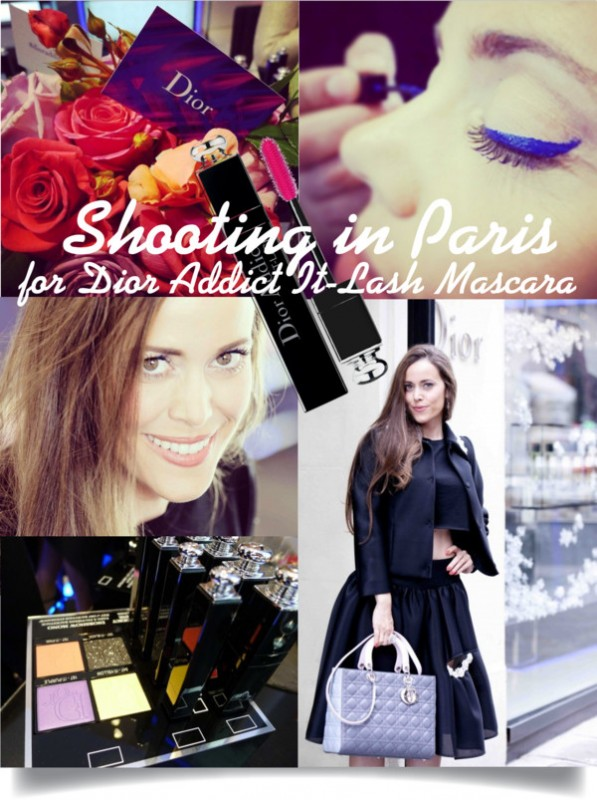 Shooting in Paris for Dior addict It-Lash Mascara-Sandra-Bauknecht