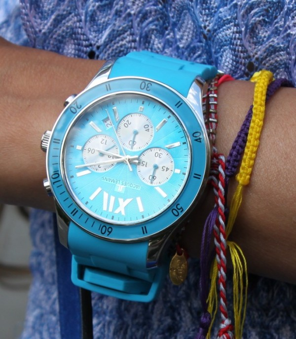 Jacques Lemans Watch turquoise 3