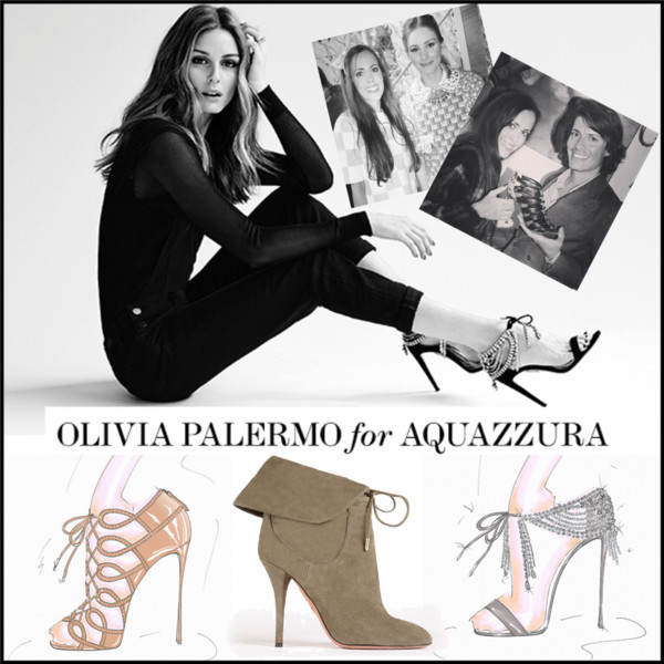 Olivia Palermo for Aquazurra Cover