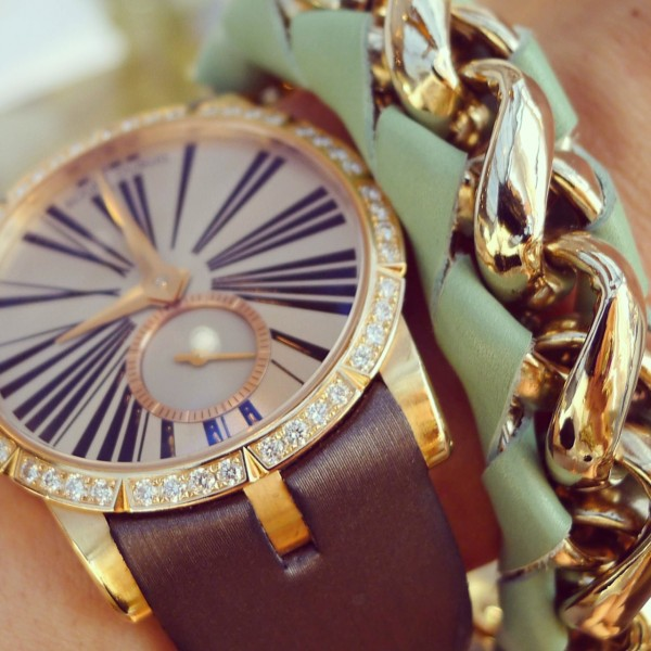 Roger Dubuis Watch and Chloé Bracelet