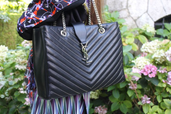 Saint Laurent Studded Bag 2