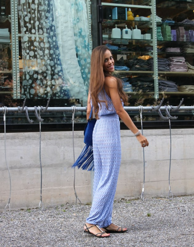 Sandra Bauknecht in Missoni Jumpsuit 4