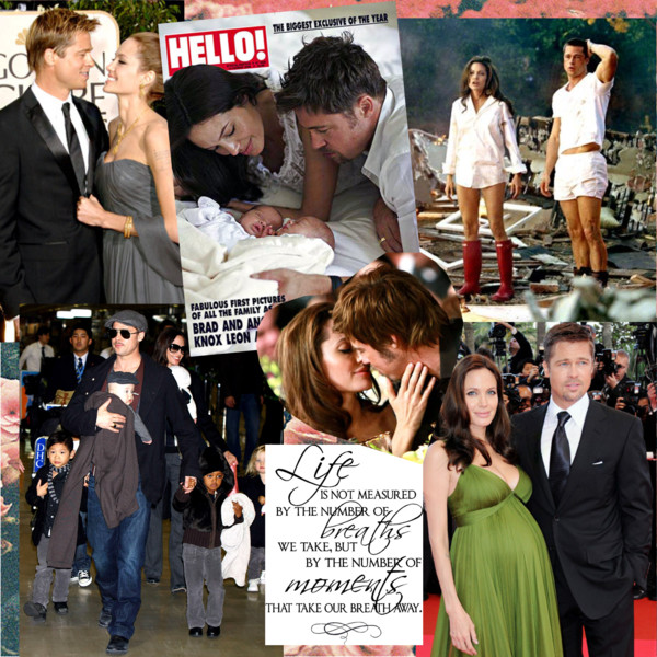 Angelina Jolie and Brad Pitt Best Moments