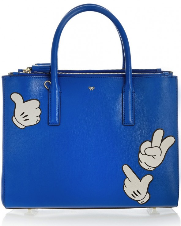 Anya Hindmarch Bag with stickers