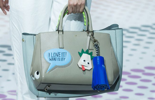 AnyaHindmarch Sticker Bag SS15
