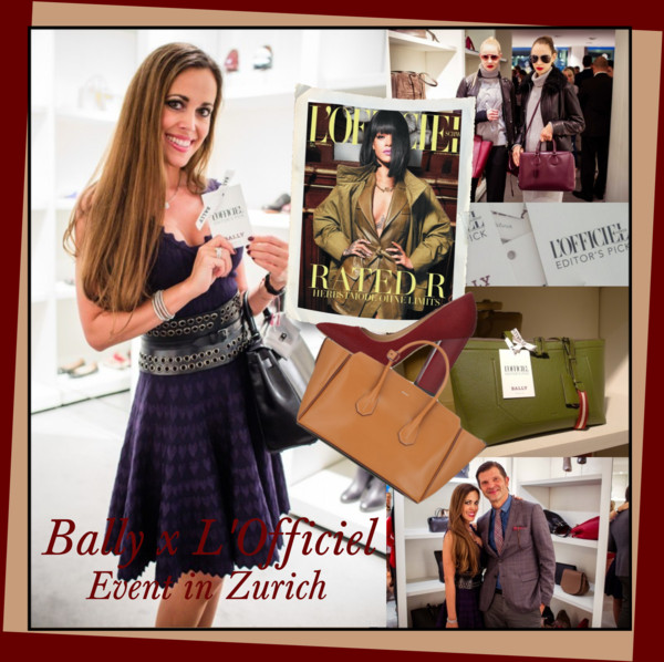 Bally x L'Officiel Event in Zurich - Sandra Bauknecht