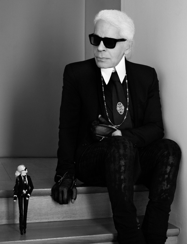 Barbie+Karl Lagerfeld