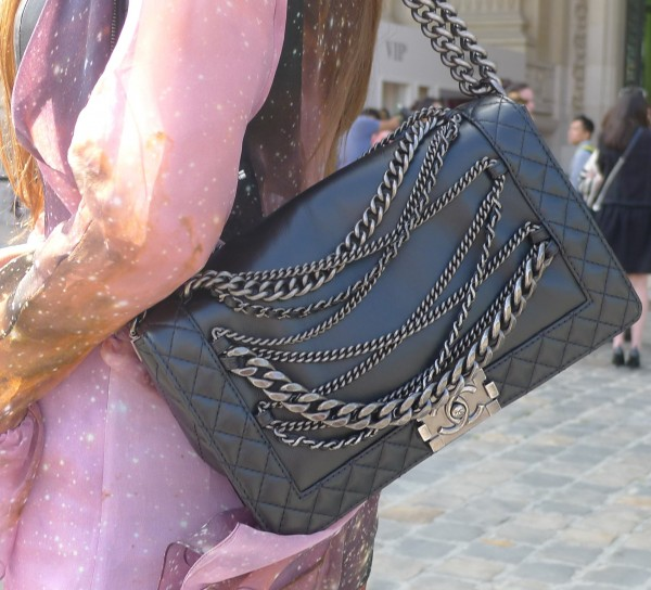 Chanel Bag close