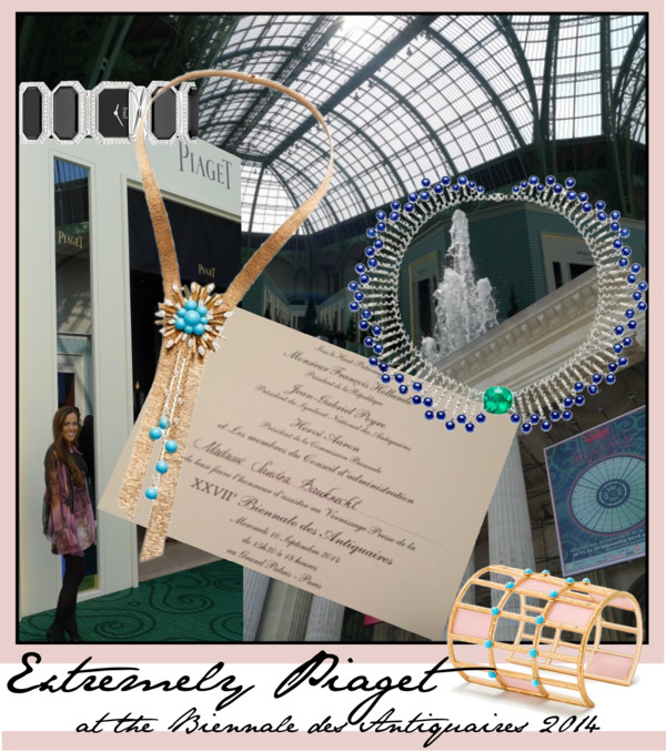Extremely Piaget at the Biennale des Antiquaires 2014