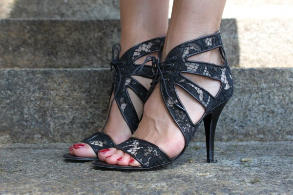 Givenchy Shoes Floral Lace