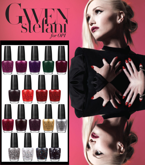 Gwen Stefani OPI Holiday 2014