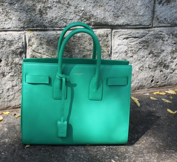 Mint green Saint Laurent Bag 2