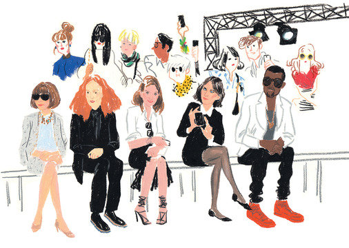 Net-A-Porter-Gift Illustration