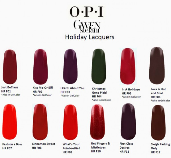 OPI-Holiday-2014-Gwen-Stefani-Nail-Lacquer- Collection