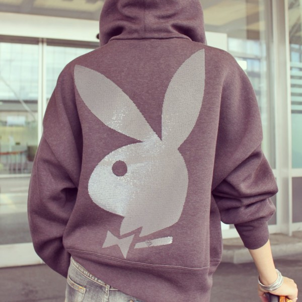 Playboy Bunny Sequined Hoodie by Marc Jacobs