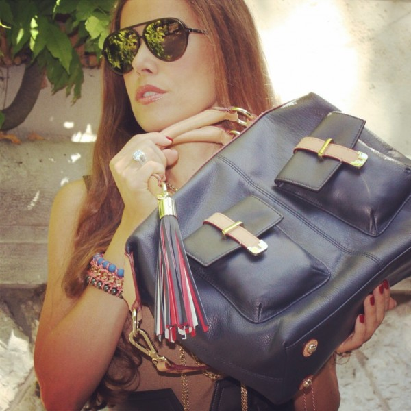 Sandra Bauknecht of Sandra's Closet with Tommy Hilfiger BHI Bag